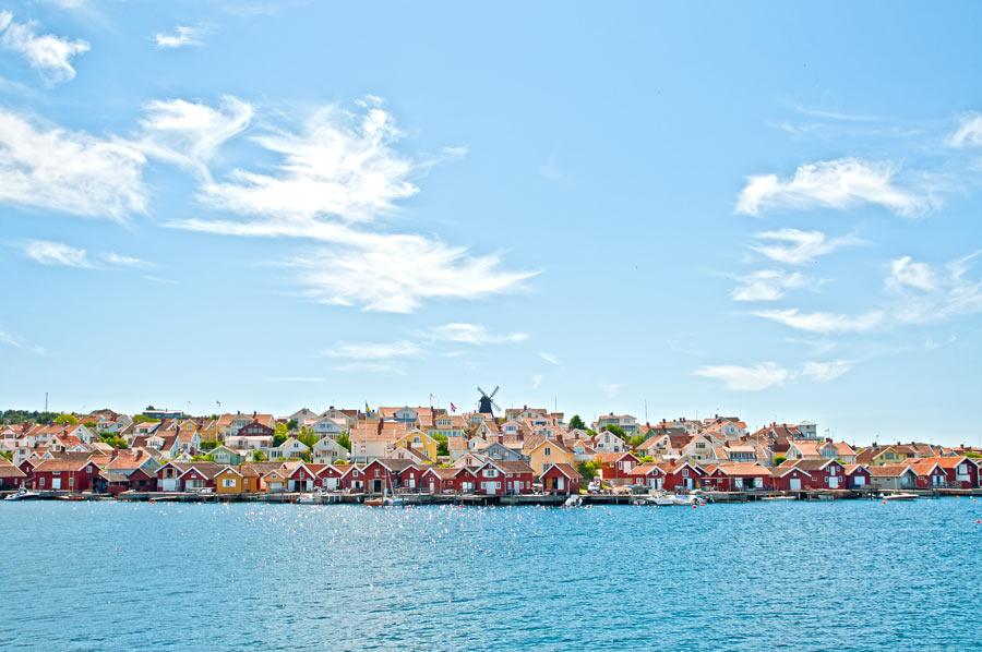 Fiskebäckskil - en fiskerlandsby like sør for Lysekil